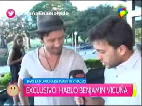 Benjamín Vicuña habló de su presente personal