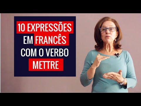 10 Expressões em Francês com o Verbo Mettre