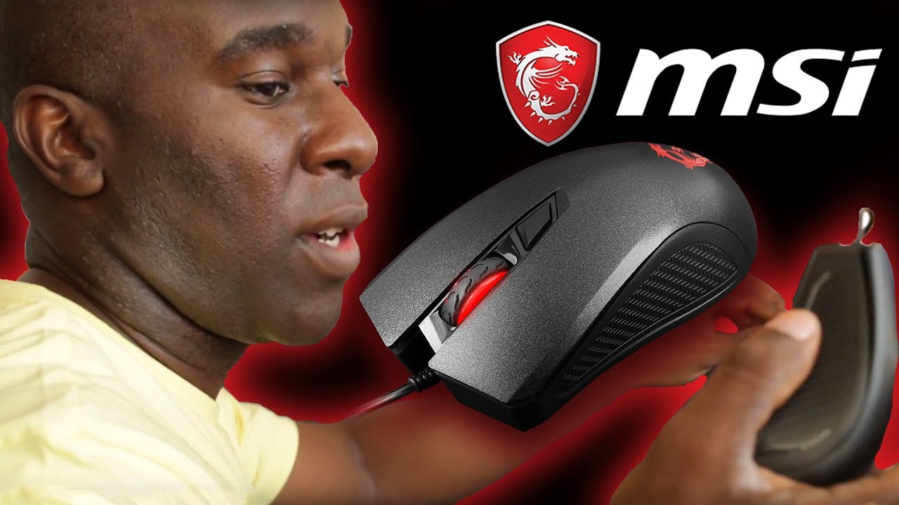 48576b724c6 MSI Clutch GM10 USB PC Gaming Mouse Review - YouTube