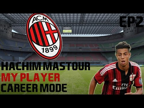 Fifa 16 Hachim Mastour Player Career Ep2 Getting To The Final