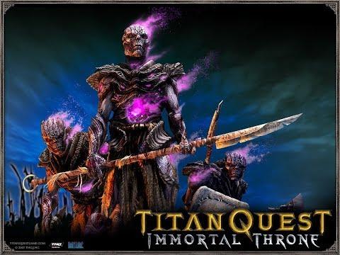 Завоеватель 5. Царство мёртвых. ч. 1. Lets Play.   [Titan Quest: Atlantis]