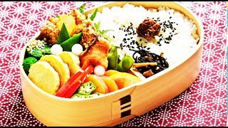 Как делать БЕНТО. お弁当. Japanese Bento Lunch Box. Что едят в Японии на обед?