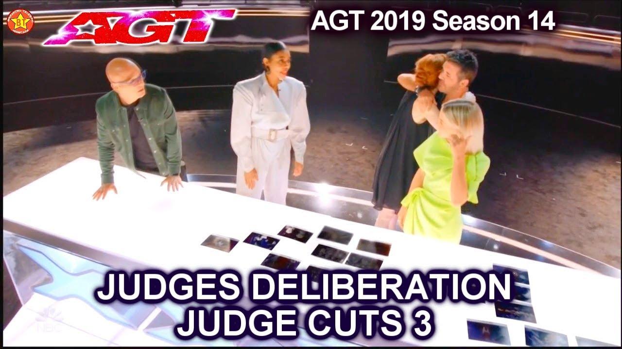Judge Deliberations JUDGE CUTS Week 3 | America's Got Talent 2019 Judge Cuts AGT