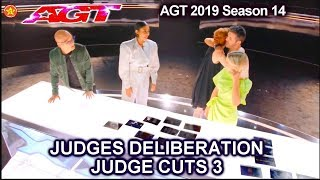 Judge Deliberations JUDGE CUTS Week 3 | America's Got Talent 2019 Judge Cuts AGT