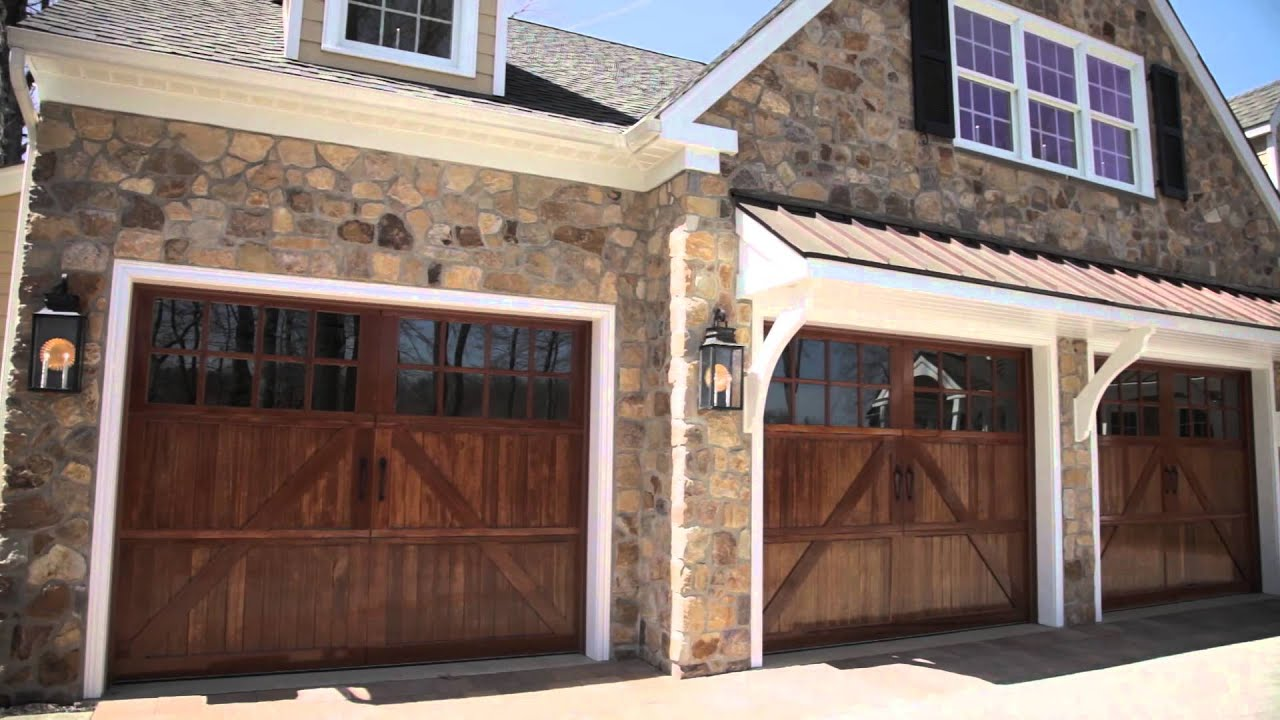 Custom wood garage doors warrington pa 215 536 7192 Italian garage doors
