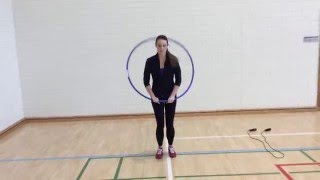 Teaching young children (aged 4-8) to jump rope - video 2