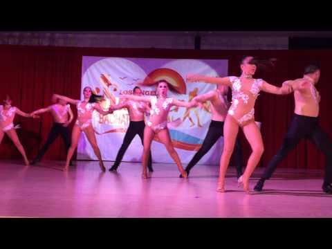 Grizzly Dance Company Bachata Pro Team (Ay Que Soledad) @ LASBF 2015