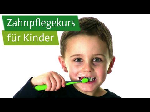 Zahnpflegekurs für Kinder: