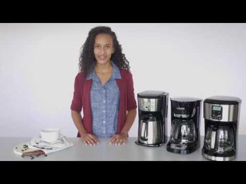 Black+Decker - How to Clean Your Coffeemaker - CM2036