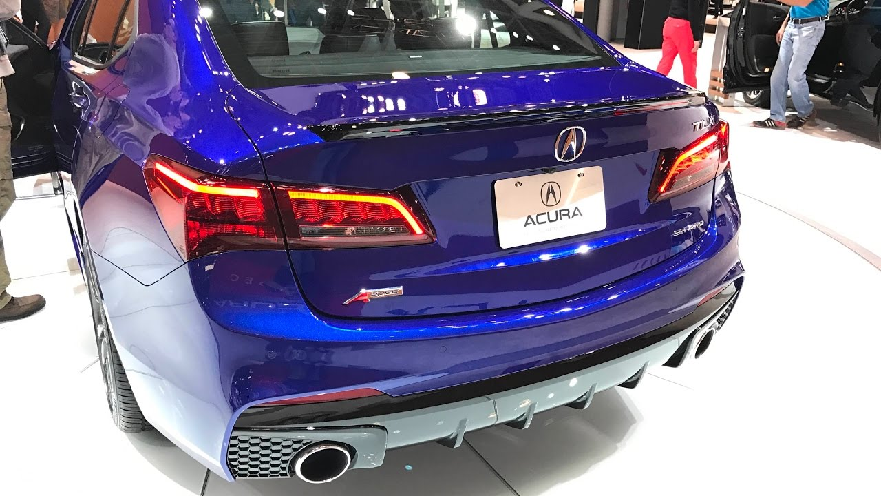 2018 Acura Tlx A Spec Quick Look Exterior And Interior