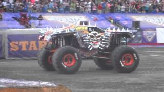 Max-D Tom Meents and The double backflip Gillette Stadium 2015