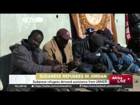 Sudanese refugees demand assistance from UNHCR