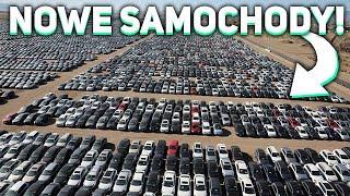 MILIONY NOWYCH SAMOCHODÓW RDZEWIEJE NA PARKINGU!