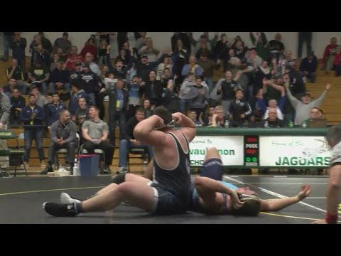 WIAA Division 1 Wrestling Sectionals