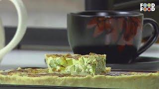 Zucchini & Cream Cheese Tarts | Snack Time | Chef Ajay Chopra | FoodFood