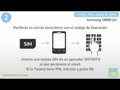 Liberar móvil Samsung S8000 Jet | Desbloquear celular Samsung S8000 Jet
