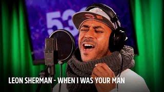 Leon Sherman – When I Was Your Man | Live bij Evers Staat Op