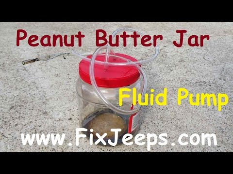 Homemade fluid pump - works great removing automotive fluids