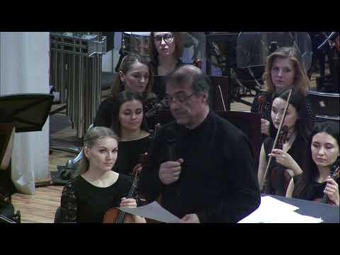 Александр Рудин и Уральский молодежный симфонический оркестр (28 марта 2019)