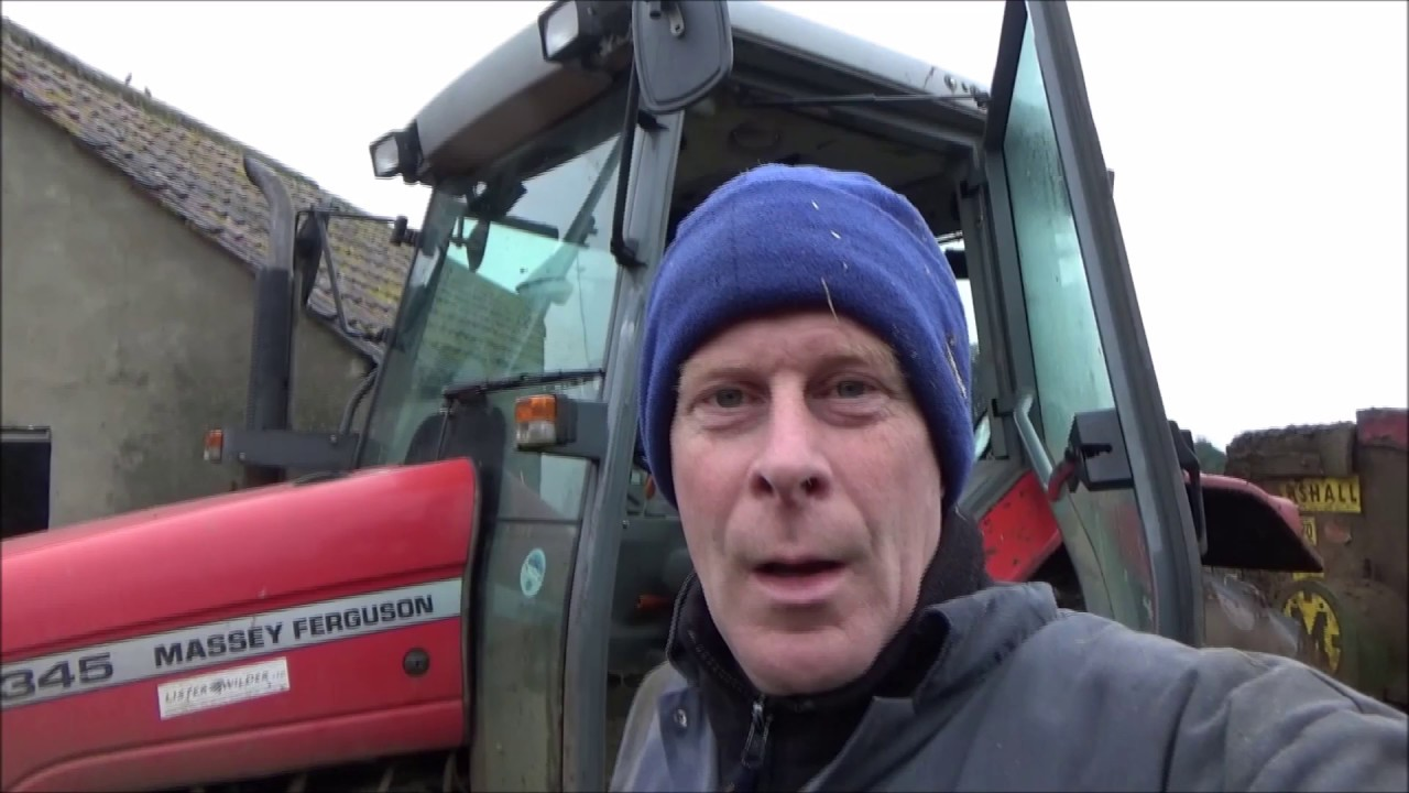 Massey Ferguson 360 Headlamp Bulb : Changing headlamp bulb on the massey ferguson youtube