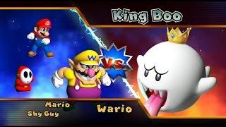 Mario Party 9 - Solo Mode Walkthrough Part 3 - Boo's Horror Castle