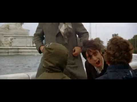 Scarecrow(1973) Pacino, Hackman in fountain scene