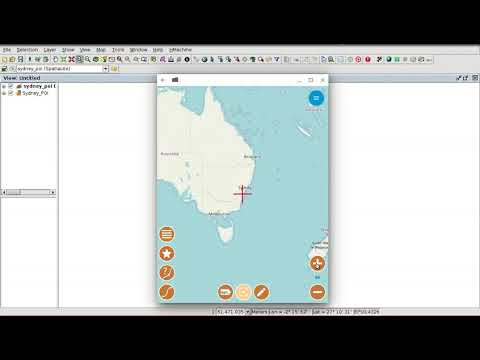 """GIS For Municipality Management"" Course (Mod. 17): GvSIG Mobile (connection With GvSIG Desktop)"