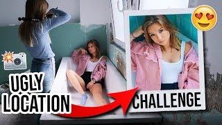 UGLY LOCATION PHOTOSHOOT CHALLENGE mit Jana! (endlich😂)