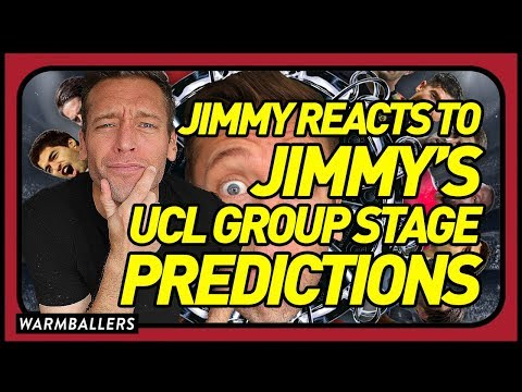 REACTING TO MY CHAMPIONS LEAGUE GROUP STAGE PREDICTIONS!!!