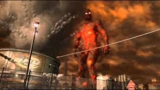 inFamous 2 (PS3) последний босс (концовка, хорошая карма)