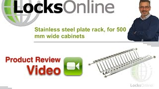 Stainless Steel Plate Shelf Rack Cabinet Cupboard Insert Type LocksOnline Product Review