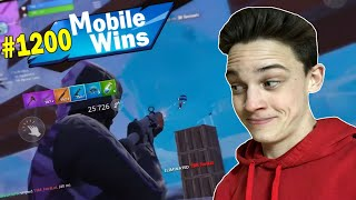 My 1200th Win of Fortnite Mobile