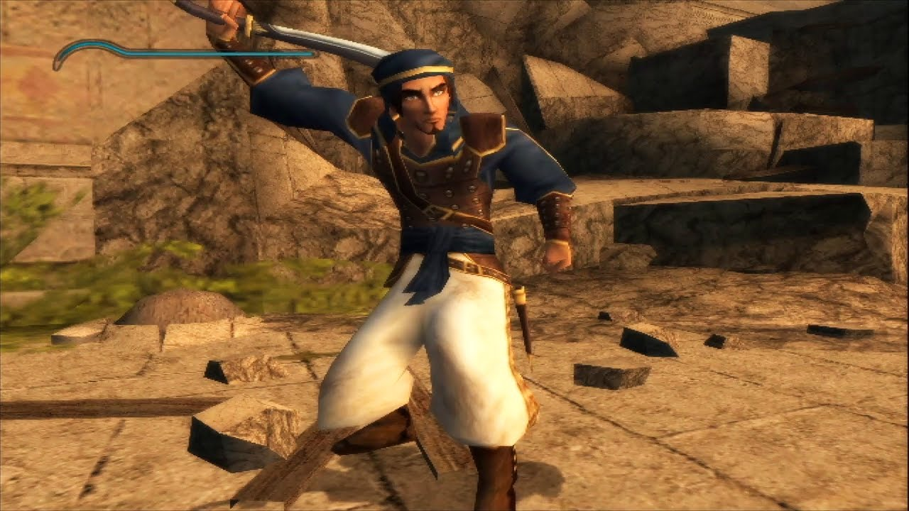 Prince Of Persia The Sands Of Time Gamecube Gameplay 1080p Youtube