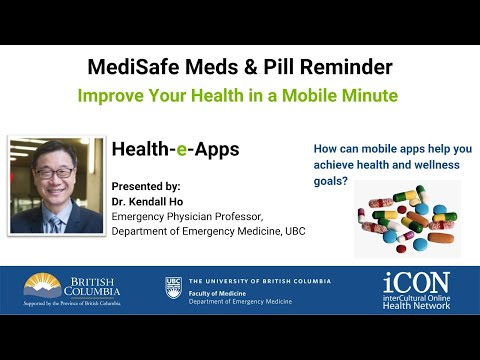 MediSafe Meds & Pill Reminder | Health-e-Apps | Improve Your Health In A Mobile Minute