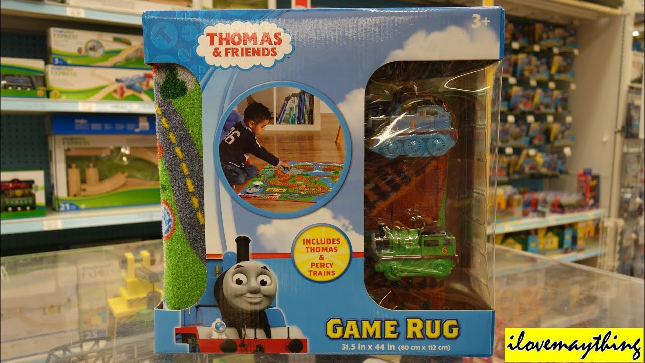 Thomas The Tank Engine Amp Friends Game Rug Youtube