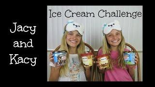Ice Cream Challenge ~ Jacy and Kacy