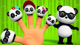 Finger Family | Panda Finger Family Song