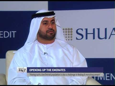 HH Sheikh Maktoum Bin Hasher, Exec. Chairman of SHUAA, discusses foreign ownership of UAE companies