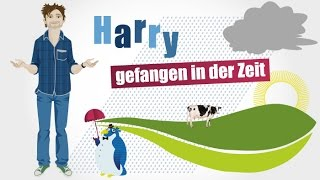 learn german a1 b1   harry gefangen in der zeit