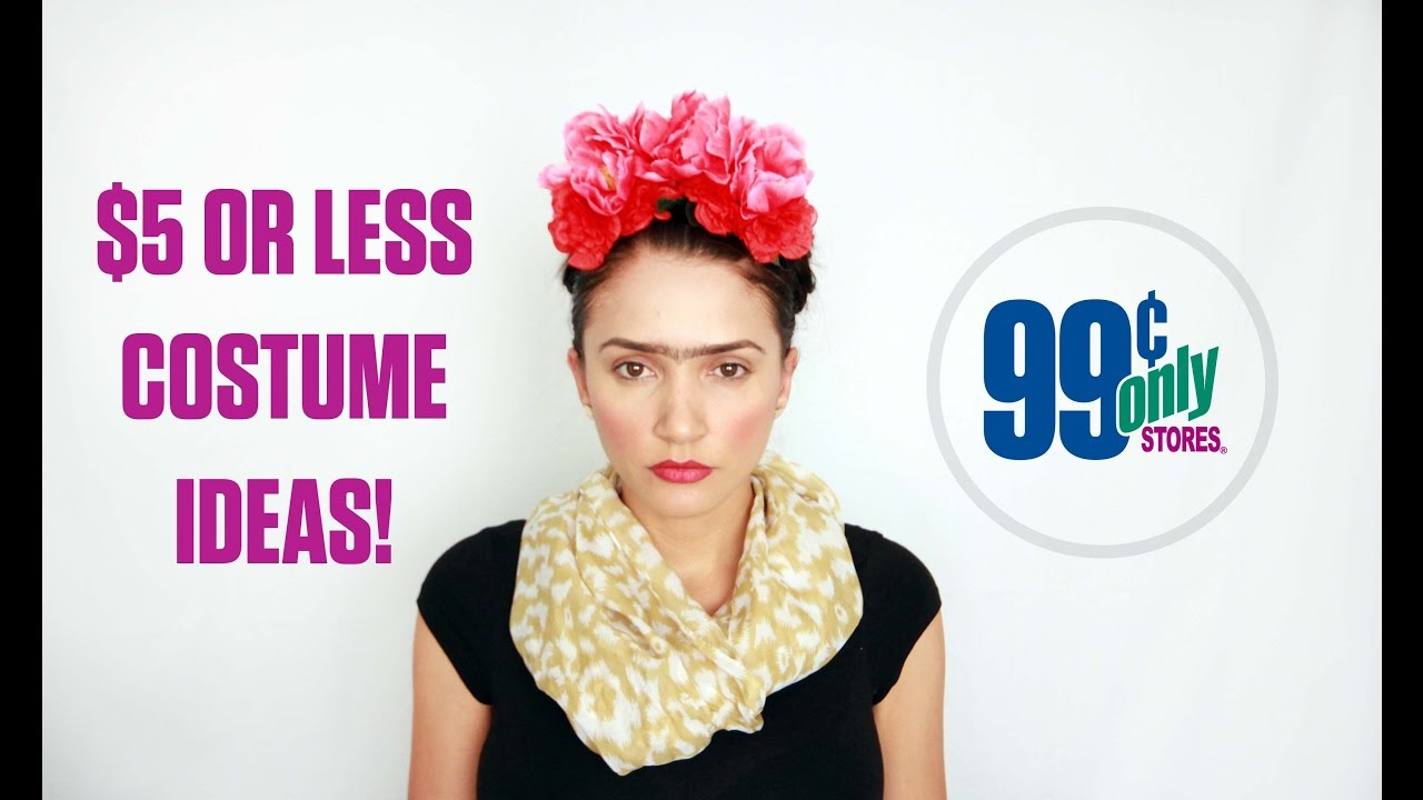 Clever DIY Halloween Costumes For 5 Or Less At The 99 Cents Only Stores