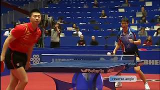 table tennis - amazing rallies against chinese players