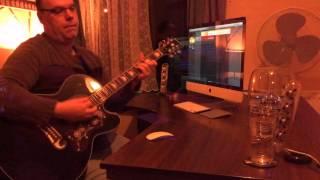 Wild West Hero - ELO - Epiphone EJ-200CE Sound Test Demo via Garage Band