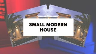 ROBLOX Speed Build: Small Modern House [Part 1]
