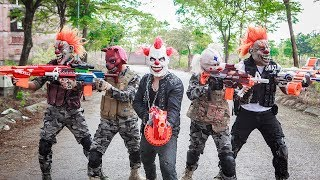 Download Video Special Police SWAT Warriors Use Skills Nerf Mod Fight Crime Group Mask Tiger Man Nerf War MP3 3GP MP4