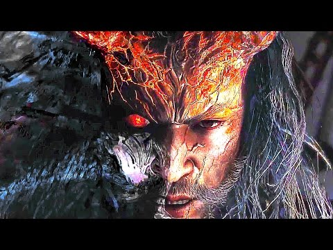 NIOH DLC Gameplay Trailer PS4 2017 (Dragon of the North)