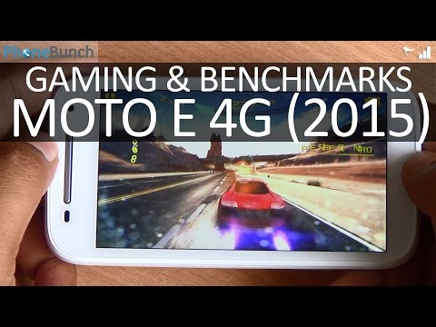 Moto E (2nd Gen) 4G 2015 Gaming Review and Benchmarks