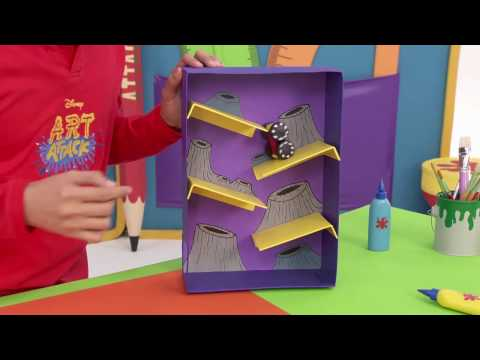 Art Attack | Space Car - Disney Channel Asia