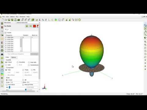 Tutorial creacion antena helicoidad FEKO
