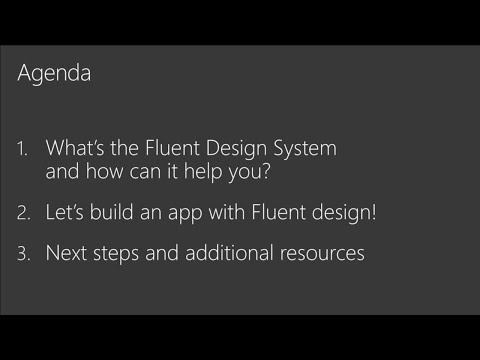 Build amazing apps with the Fluent Design - BRK2070
