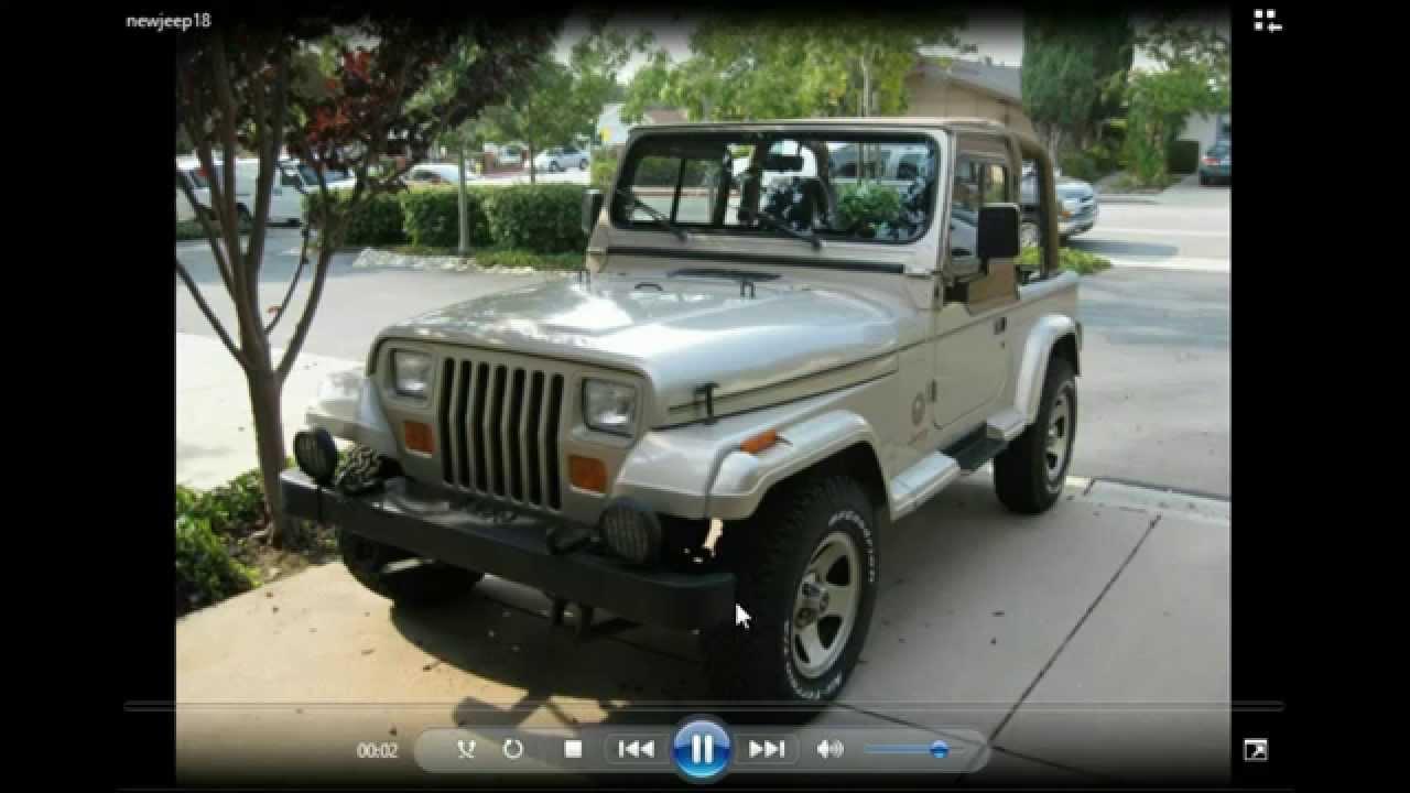 The Story Of My 1993 Jeep Wrangler Sahara  Yj